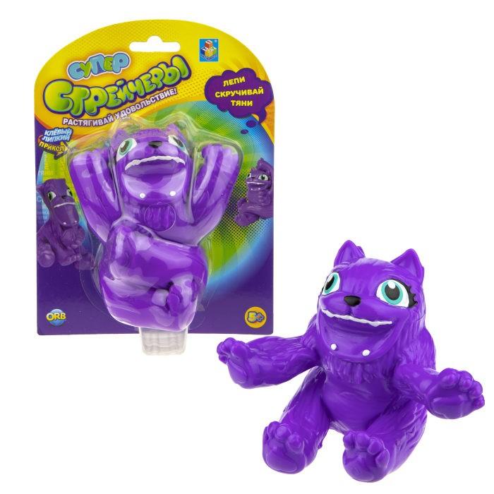 Развивающие игрушки 1 Toy Супер Стрейчеры Тянихвост 11 см