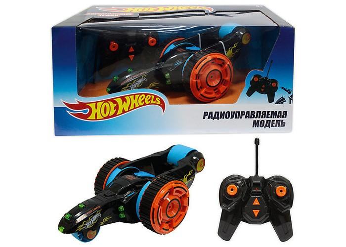 Фото - Радиоуправляемые игрушки 1 Toy Трюковая Машина-перевёртыш Hot Wheels на р/у радиоуправляемые игрушки 1 toy багги hot wheels машинка на р у