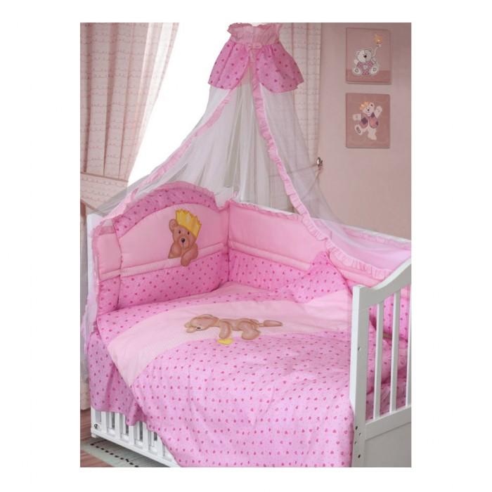 Картинка для Комплект в кроватку Золотой Гусь Мишка-Царь (8 предметов)
