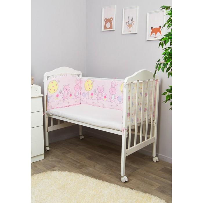 Бампер для кроватки Сонный гномик АкварельАкварельБампер Сонный гномик Акварель для кроватки состоит из 4-х частей высотой 42 см по всему периметру кроватки. Обезопасит вашего ребенка во время сна и послужит прекрасным оформлением для детской кроватки.  для кроватки размером 120х60 см бортик из 4х частей, высотой 42см, по всему периметру кроватки состав ткани: нежная бязь из самой тонкой нити 100% хлопок безупречной выделки,ткань с авторским рисунком высокий бортик со съёмными чехлами по всему периметру кроватки наполнитель бортика ХоллКон<br>
