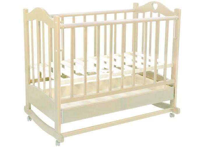 Детские кроватки Ведрусс Лана №2 качалка обычная кроватка ведрусс иришка 2 темный орех
