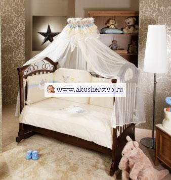 Комплект в кроватку Feretti Rabbit Sestetto Hight Long (6 предметов)