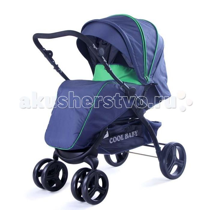 Прогулочная коляска Cool-Baby KDD-6699GB-TKDD-6699GB-TПрогулочная коляска Cool-Baby KDD-6699GB-T чрезвычайно удобная и маневренная. Всесезонная прогулочная коляска с перекидной ручкой. Большой капюшон отлично защищает малыша от ветра,дождя и солнца. Для удобства родителей предусмотрена регулировка ручки по высоте. Имеется вместительная корзина для игрушек родительской ручкой.  Особенности: Перекидная ручка 3 положения наклона спинки до лежачего Регулируемая подножка Съемный столик Крыша опускается до столика Система ремней безопасности Передние колеса поворотные с возможностью фиксации Тормоза на передних и задних колесах Мягкий съемный матрасик Силиконовый дождевик Подножка покрыта пленкой ПВХ Жесткая спинка Большая багажная корзина, полог на ножки, матрасик, дождевик, противомоскитная сетка, столик.<br>