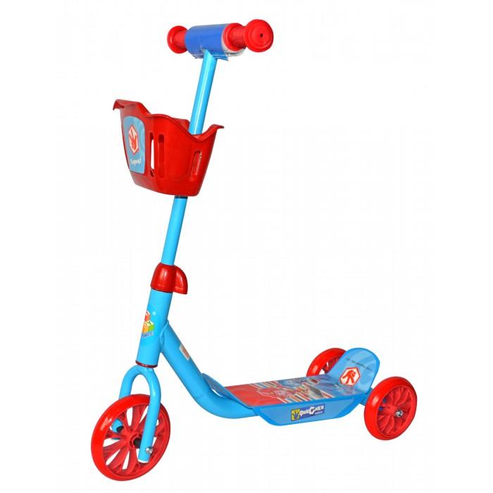 Детский транспорт , Трехколесные самокаты 1 Toy Фиксики с корзинкой арт: 312659 -  Трехколесные самокаты