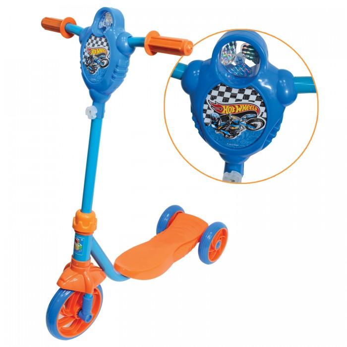Детский транспорт , Трехколесные самокаты 1 Toy Hot wheels Т5 арт: 333370 -  Трехколесные самокаты