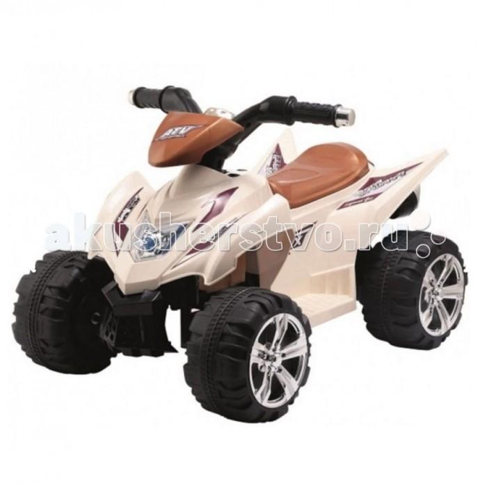 Электромобиль 1 Toy Квадроцикл Т11033Квадроцикл Т11033Электромобиль 1 Toy 1toy Квадроцикл Т11033 ребенок будет чувствовать себя так, будто он уже взрослый и управляет настоящей машиной. Квадроцикл имеет довольно большое сиденье, на котором можно удобно разместиться. Высоко расположенный руль с прорезиненными ручками расположен как раз на том уровне, где руки ребенка смогут его достать. Отдельного внимания заслуживают огромные колеса квадроцикла с тракторным рифлением. Они позволяют машине проехать и по камням, и по ямам, и по грязи или воде. Мощный мотор квадроцикла позволяет ему при желании развить просто ошеломительную скорость.  Езда малыша на квадроцикле выглядит очень эффектно, так как сопровождается различными громкими звуками, а также подсветкой. Со стороны может показаться, что это даже не детская машина, а настоящий внедорожник маленького размера.  Развивает скорость до 7 км/ч, имеет пульт управления. Мотор 15Вт Аккумулятор 6В/4,5Ач Время работы: до 90 мин Время зарядки аккумулятора: 12 ч От 3-5 лет. Допустимый вес эксплуатации: 40 кг. Колёса пластик. Размер машины (ДхШхВ): 0,68 х 0,48 х 0,46 см<br>