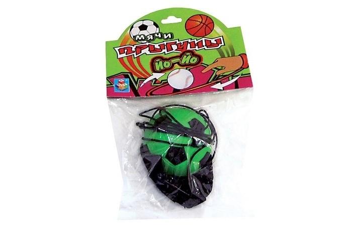 Развивающие игрушки 1 Toy Мяч-прыгун Йо-Йо 5.5 см игрушка йо йо 1 toy на палец