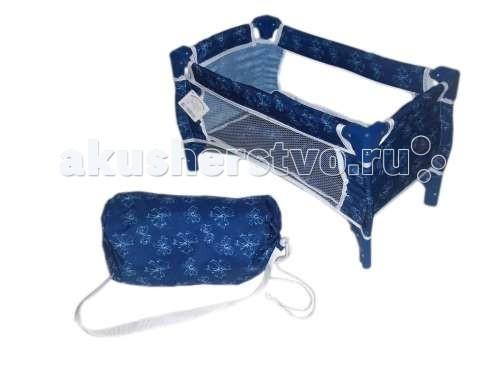 Кроватки для кукол 1 Toy Т57309/Т57308 сумку переноску для щенят