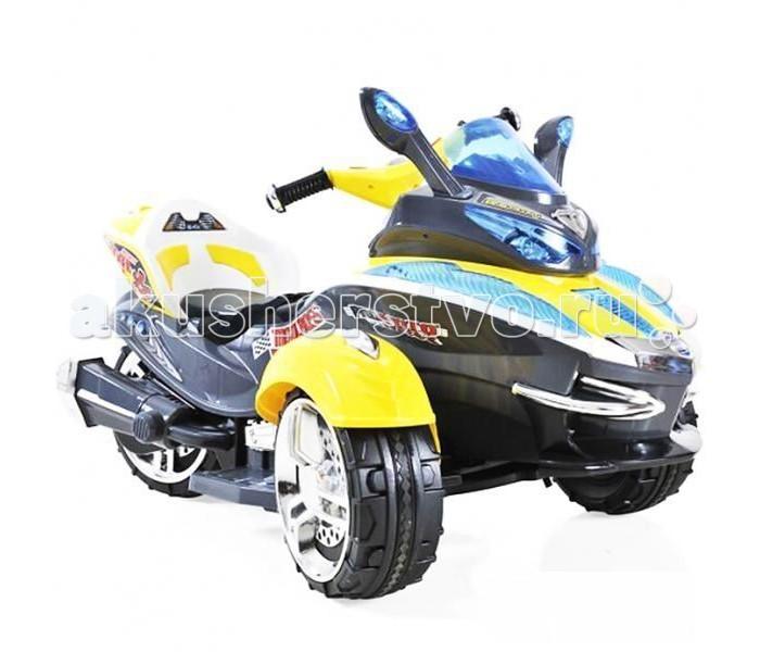 Электромобиль 1 Toy Трицикл р/уТрицикл р/уАккумуляторная машина Трицикл со звуковыми эффектами. Управляемый автомобиль - это самая желанная игрушка для мальчиков. Машинка имеет максимально реалистичный вид, выполнена в ярких, привлекательных цветах, что делает её ещё более интересной. Машина оснащена звуковыми сигналами и музыкальным сопровождением. Во избежание проблем с эксплуатацией модель сопровождается подробной инструкцией на русском языке.  Особенности: Транспортное средство предназначено для детей от 2 до 7 лет Управление одной педалью (нажать - газ; отпустить - тормоз), а так же с помощью пульта управления Пульт дистанционного управления позволяет управлять детским трициклом на расстоянии до 20 метров MP3 вход, регулятор громкости, 6 мелодий Максимальная скорость 7 км/ч. + Задняя скорость  Пластиковые подставки для ножек, удобное сидение, руль позволяют легко и комфортно управлять транспортом Ремень безопасности на защелке обеспечивает максимальную безопасность при катании У трицикла одно посадочное место Ведущее колесо - заднее Мотор по 35W (задний привод). Работает от аккумулятора 12 V / 7А Время работы от одной зарядки 2 часа Время полной зарядки аккумулятора 8-10 часов  Зарядное устройство прилагается  Колеса - пластиковые с резиновыми накладками, которые обесцвечивает устойчивость корпусу детского электромобиля Максимальная нагрузка до 35 кг Размеры трицикла: 107 х 66 х 61 см<br>