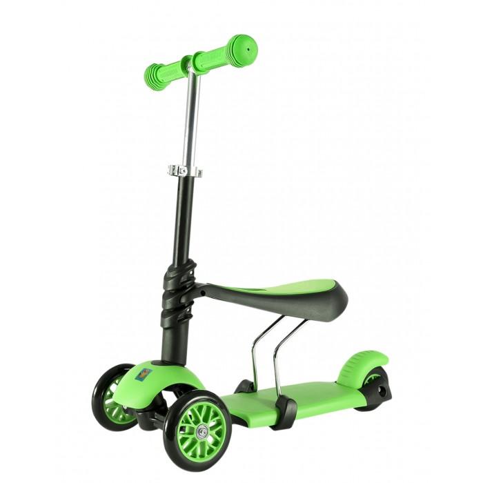 Детский транспорт , Трехколесные самокаты 1 Toy управление наклоном 3-в-1 арт: 333355 -  Трехколесные самокаты