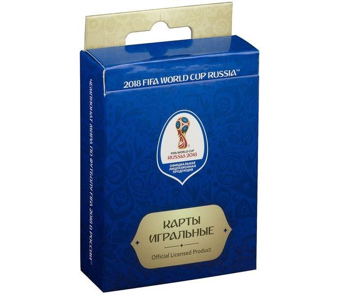 Сувениры к ЧМ по футболу 2018 FIFA World Cup Russia Карты игральные 54 шт.