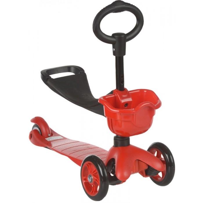 Трехколесный самокат 21st Scooter MaxiMaxi21st Scooter Самокат Maxi - детский трехколесный самокат со съемным седлом и корзинкой. Самокаты этой серии - это самокаты нового поколения. Они имеют улучшенную конструкцию и более высокие технические показатели.   Ребенок сидит на сиденье и продвигается вперед, отталкиваясь ножками, точно так же, как на беговеле или машине-каталке. К тому же, сидение можно регулировать по высоте под рост ребенка в 2-х положениях. Как только ребенок почувствует себя более уверенно на ногах, самокат можно использовать как обычный с низкой О-образной ручкой.  Особенности: Регулируемый руль Усиленная длинная рама Тормоз Колеса: передние - 120 мм, заднее - 80 мм Высота руля регулируется до 67 см Указания по применению: Инструкция по сборке находится внутри. Для чистки самоката можно использовать влажную тряпку.  Товар сертифицирован: C-CN.АЛ14.В.06235 действ. до 19.03.2019<br>