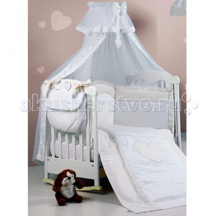 Балдахин для кроватки Roman Baby Cuore di Mamma с держателем