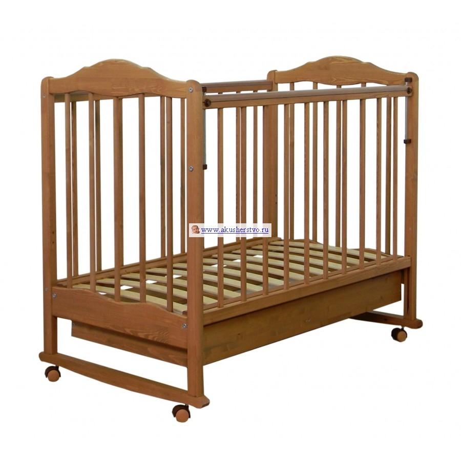 Купить Детские кроватки, Детская кроватка СКВ Компани СКВ-2 Митенька 23111 качалка с ящиком