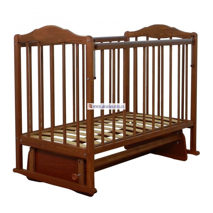Детская кроватка СКВ Компани СКВ-2 23400 поперечный маятник