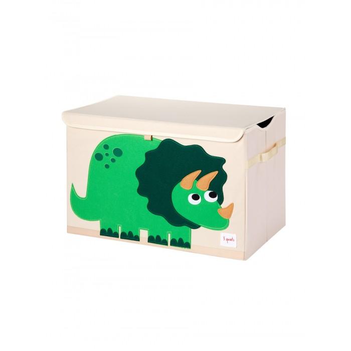 Ящики для игрушек 3 Sprouts Сундук для хранения игрушек Динозавр корзина 3 sprouts лисичка 43х45