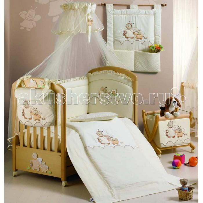 Комплекты в кроватку Roman Baby Lucciole (5 предметов) постельное белье roman baby lucciole 3 предмета