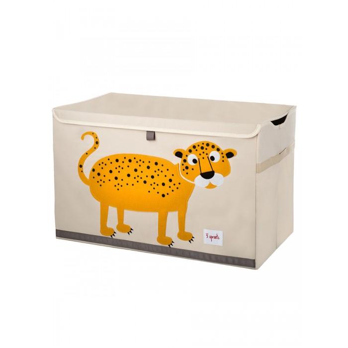 Ящики для игрушек 3 Sprouts Сундук для хранения игрушек корзина 3 sprouts лисичка 43х45