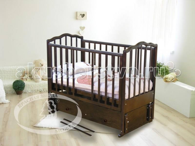 Детская кроватка Можга (Красная Звезда) Ангелина С-676 продольный маятник
