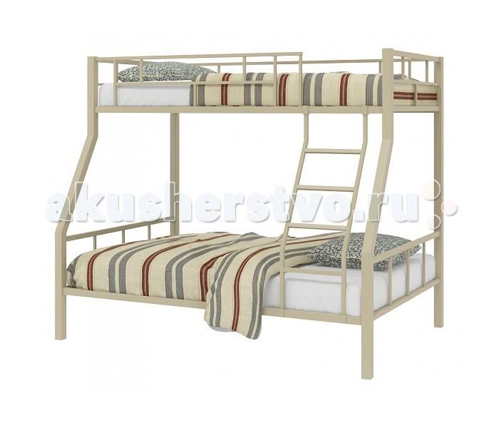 Детская кроватка 4 Сезона двухъярусная Раутадвухъярусная РаутаДетская кроватка 4 Сезона двухъярусная Раута - это удобное и отличное место для хорошего сна. Каркас металлический. Кровать смотрится очень легко благодаря четким прямым линиям. Чтобы ребенок мог легко залезть на чердак, предусмотрена удобная и безопасная лестница. А для безопасности на верхнем этаже поставлены высокие перила. Кровать покрашена порошковой нетоксичной для ребенка краской. Дополнительно к кровати можно докупить настенную полку и ящик для белья.  Особенности: Габариты (ВхШхГ) см.: 171х199Х125  Размер нижнего спального места (см.): 120х190 Размер верхнего спального места (см.): 90х190 Тип: универсал - лестница крепится как слева, так и справа Вес (кг.): 65<br>