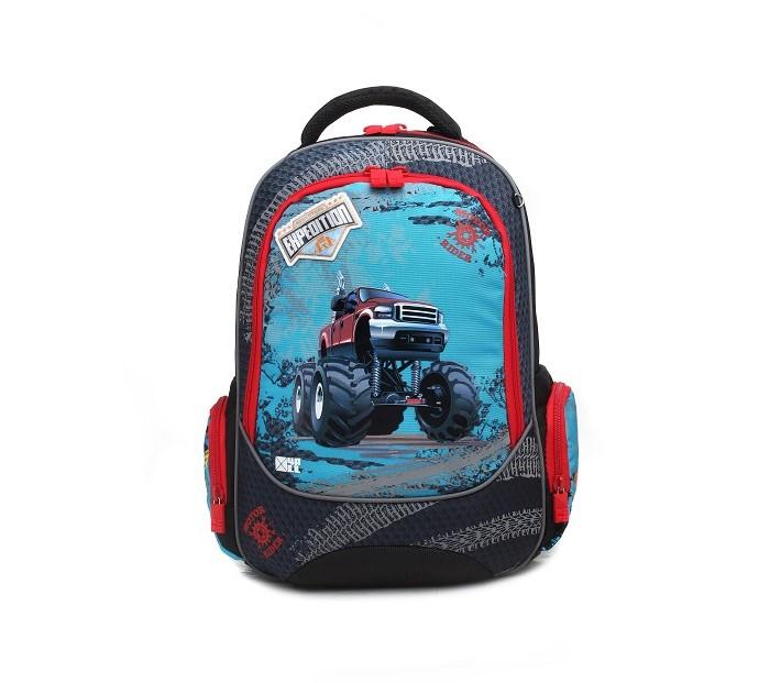 Купить Школьные рюкзаки, 4all Рюкзак школьный эргономическая спинка Машина