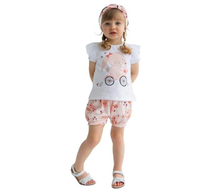 Купить Комплекты детской одежды, Artie Комплект для девочек (джемпер, шорты, повязка) Sweet cherry AKt3-698d