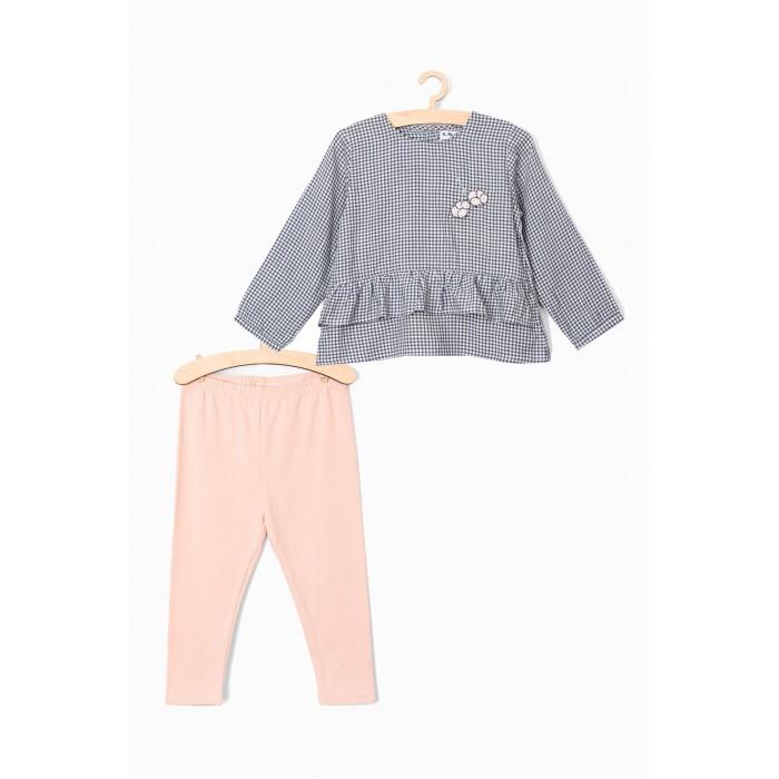 Картинка для 5.10.15 Комплект для девочек (леггинсы, блузка) 6P3803