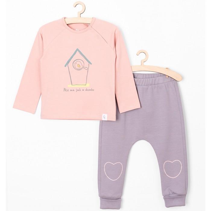 Купить Комплекты детской одежды, 5.10.15 Комплект для девочек (лонгслив, брюки) 6P3901