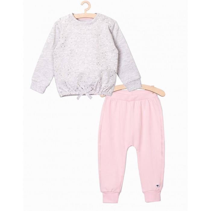 Картинка для Комплекты детской одежды 5.10.15 Комплект для девочек (толстовка, брюки) 6P3903