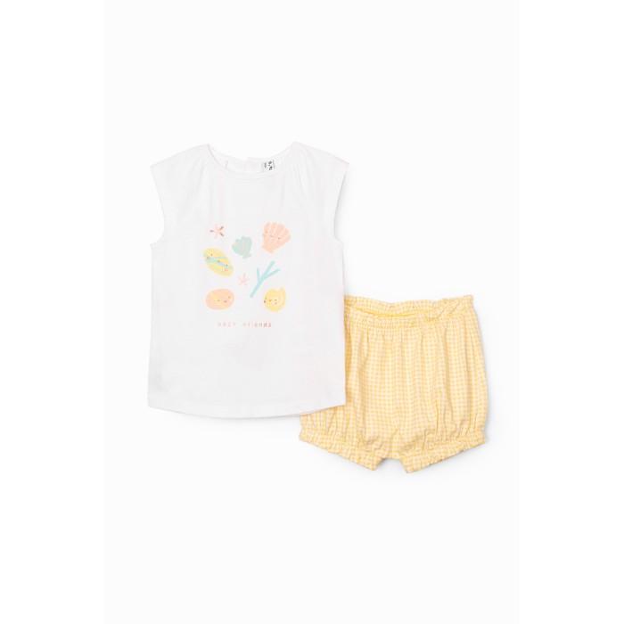 Купить Комплекты детской одежды, 5.10.15 Комплект для девочки (футболка и шорты) 6P4004