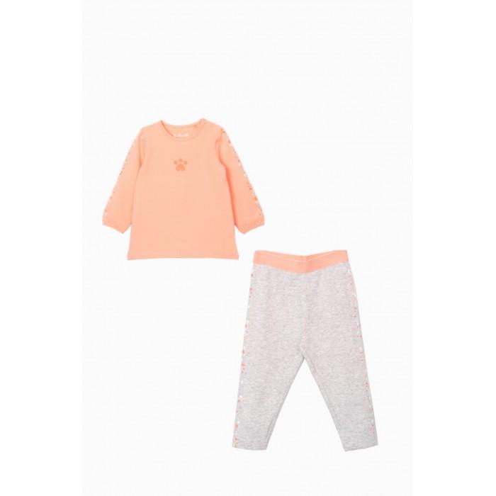 Купить Комплекты детской одежды, 5.10.15 Комплект для девочки (туника и леггинсы) 6P4003