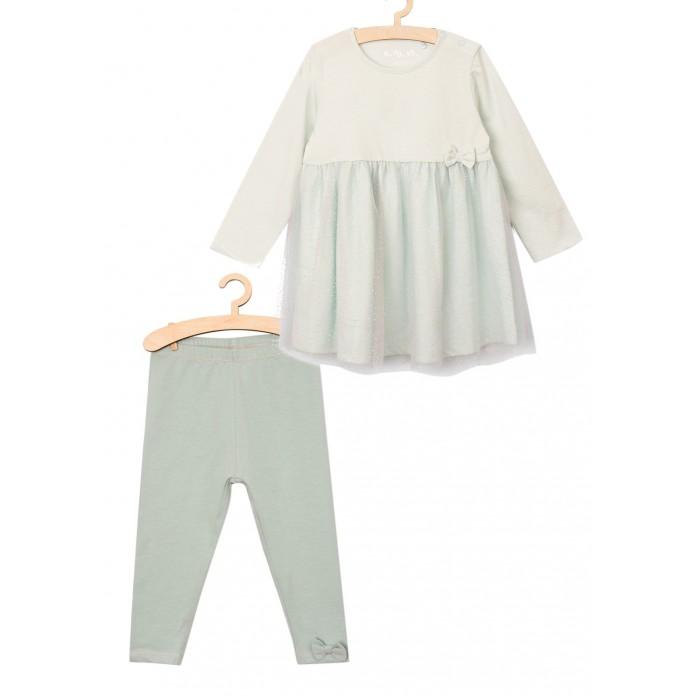 Картинка для 5.10.15 Комплект (платье, леггинсы) для девочек 6P3802
