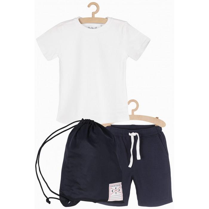 Купить Комплекты детской одежды, 5.10.15 Комплект спортивный для мальчика (футболка, шорты, мешок) 1P3902