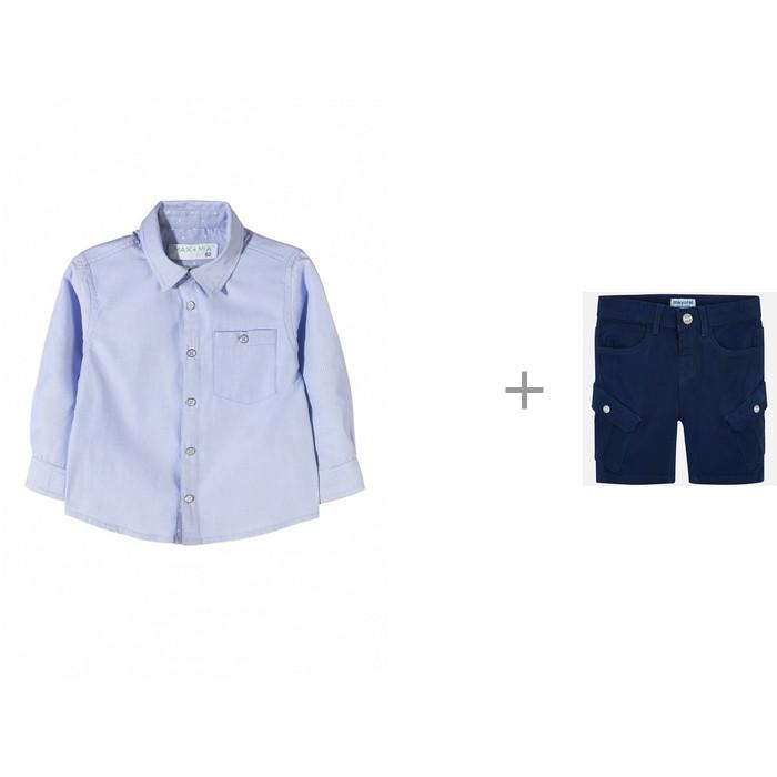 5.10.15 Рубашка для мальчика 1J3502 с шортами Mayoral 3243