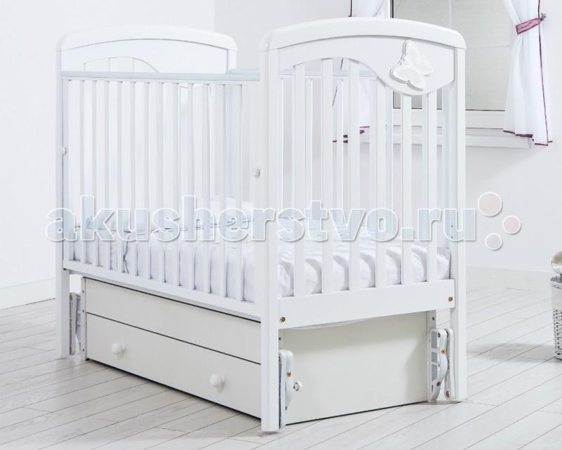 Детские кроватки Гандылян Джулия Бабочка универсальный маятник детские кроватки гандылян габриэлла люкс качалка