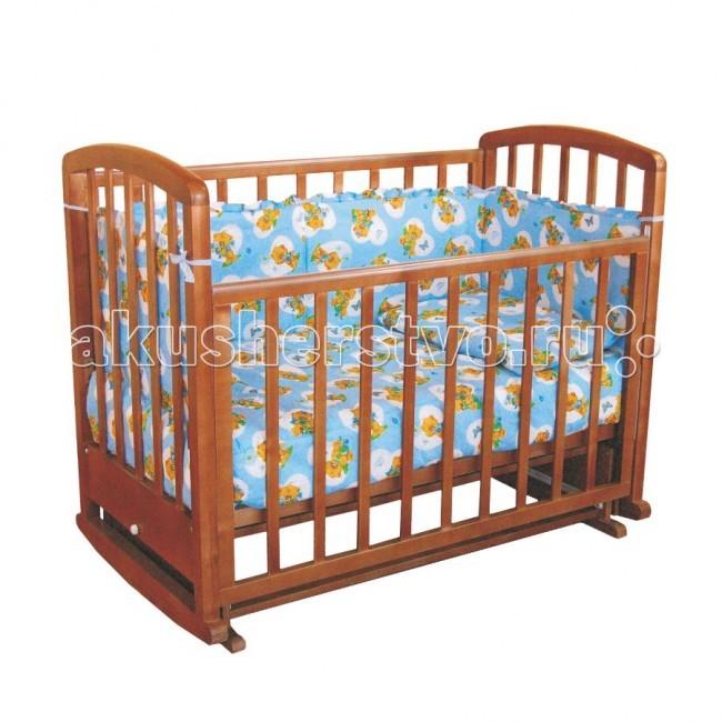 Детская кроватка Фея 610 (маятник поперечный) от Акушерство