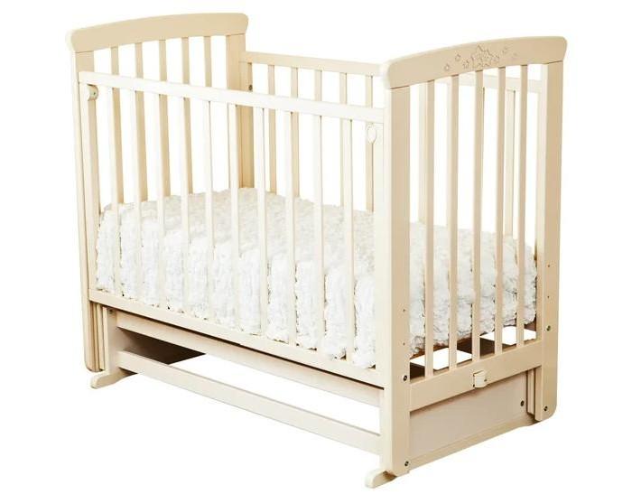 Купить Детские кроватки, Детская кроватка Можга (Красная Звезда) Марина С-702 Звезды поперечный маятник