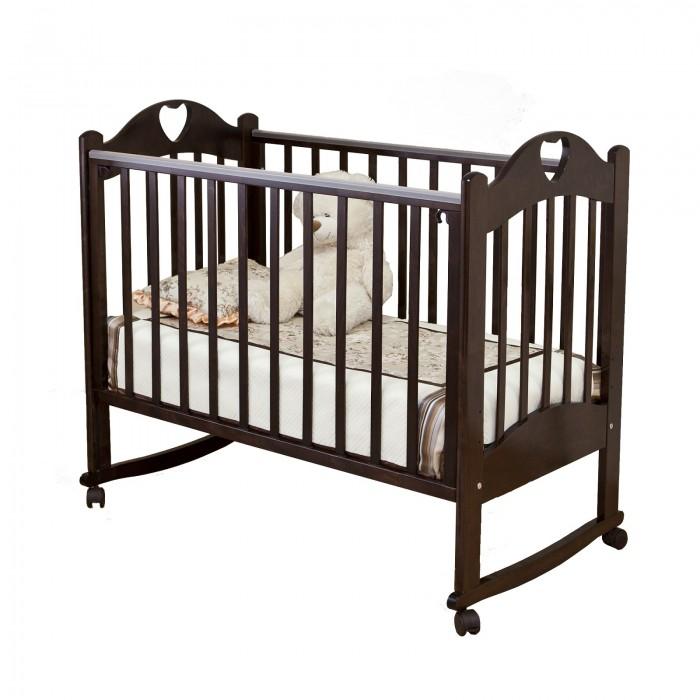 Купить со скидкой Детская кроватка Можга (Красная Звезда) Любаша С-635 качалка