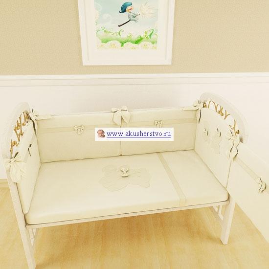 Комплект в кроватку Makkaroni Kids Тедди 120х60 см (7 предметов)