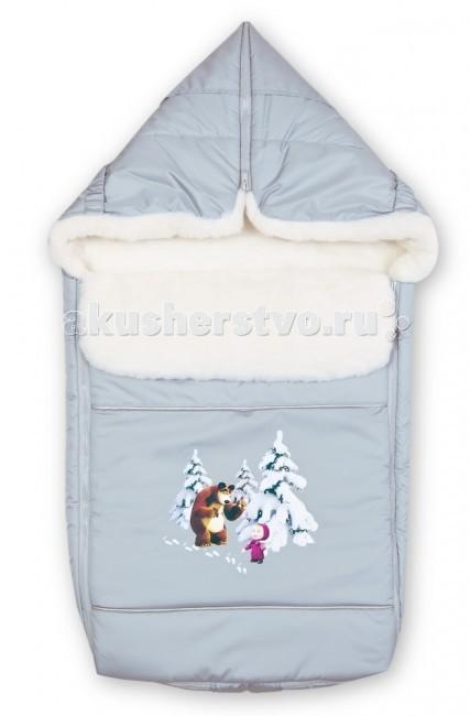 Зимний конверт Сонный гномик Маша и Медведь