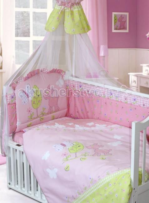 Комплект в кроватку Золотой Гусь Little Friend 120х60 (7 предметов)