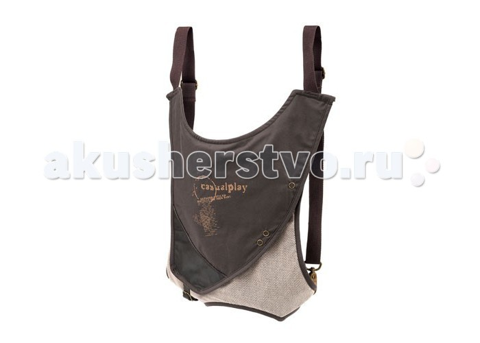 Рюкзаки-кенгуру Casualplay Sling Bag Blue Monkey