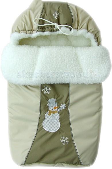 Купить Конверты для новорожденных, Little People Зимний конверт Снежинка меховой