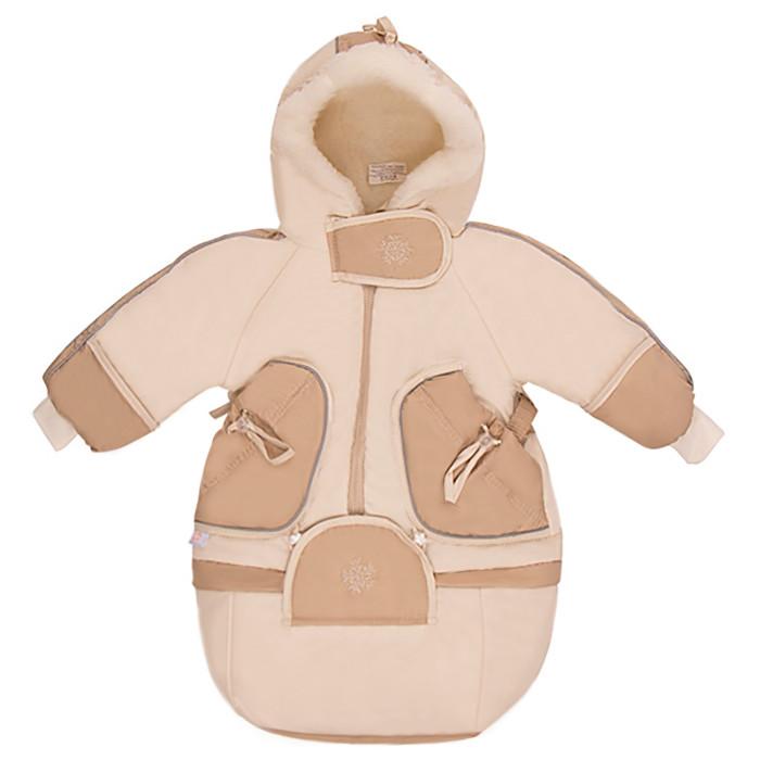 Зимние комбинезоны и комплекты Little People Комбинезон-трансформер Зимушка комбинезон трансформер для мальчика oldos морис цвет серый 1o7ov01 размер 74 9 месяцев