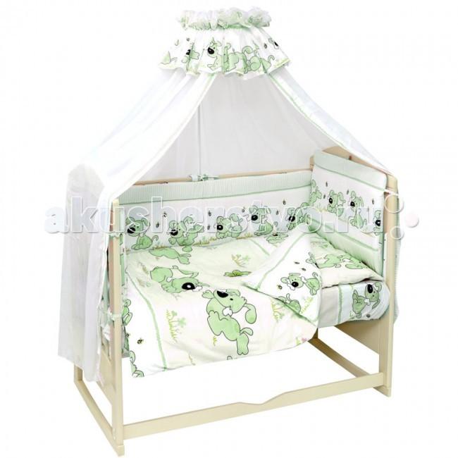 Комплекты в кроватку Топотушки Дружок (7 предметов) губка для детской кожи fun fresh дружок 14 5 х 10 х 4 см
