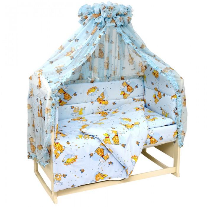 Комплекты в кроватку Топотушки Жираф Вилли (6 предметов), Комплекты в кроватку - артикул:11249