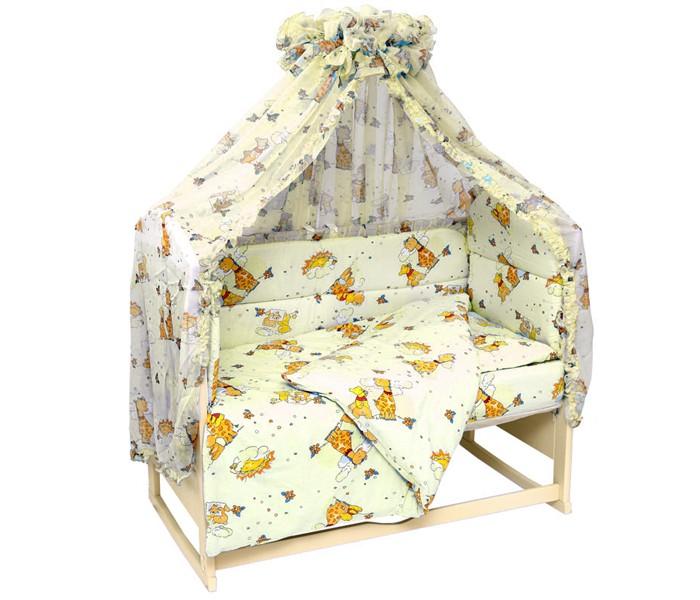 Бортики в кроватку Топотушки Жираф Вилли бортики в кроватку nattou charlotte