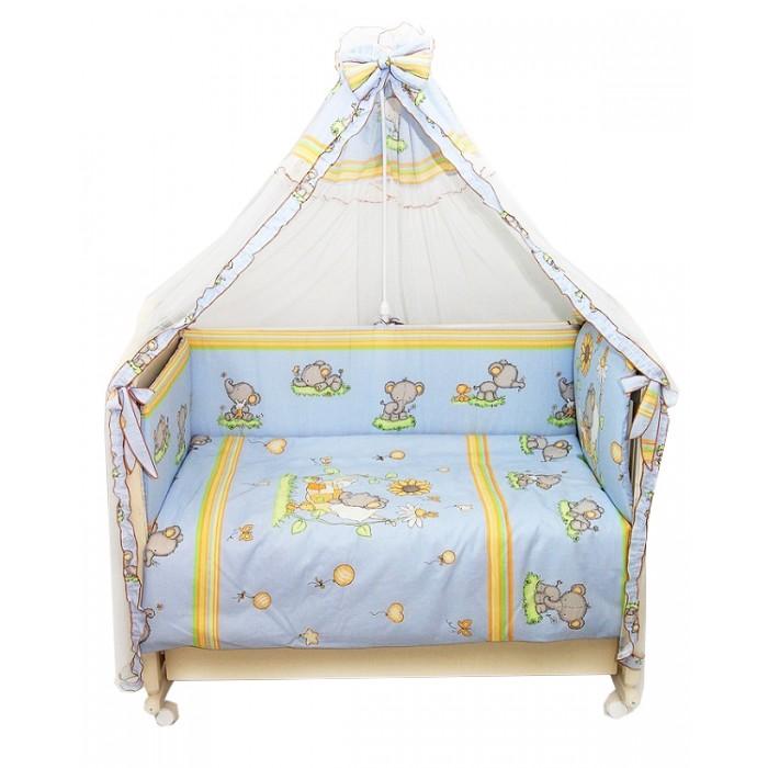 Комплект в кроватку Топотушки Слоники (7 предметов)