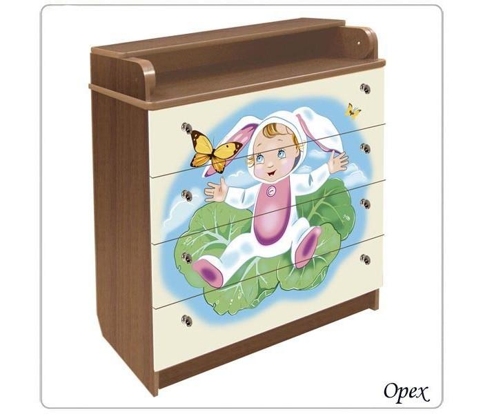 Детская мебель , Комоды Влана Капуста арт: 9018 -  Комоды