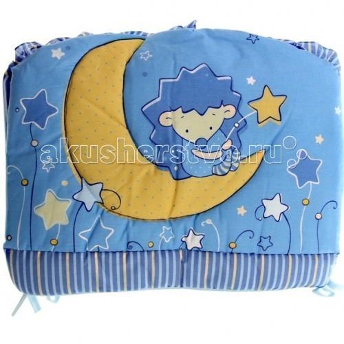 Бортики в кроватку Золотой Гусь Ежик Топа-Топ бортики в кроватку nattou charlotte